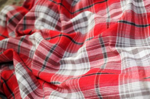 Red Checkered Background 10