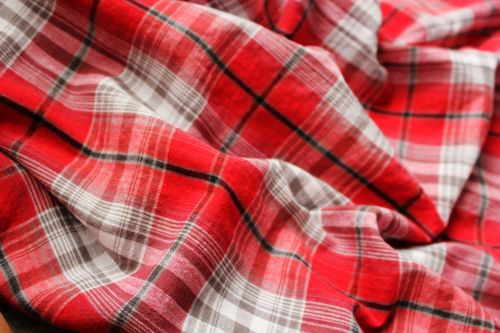 Red Checkered Background 2