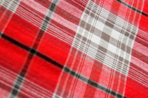 Red Checkered Background 3