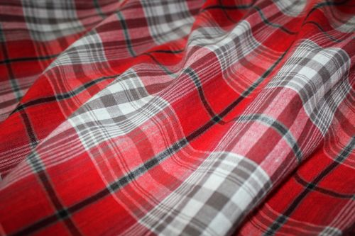 Red Checkered Background 4