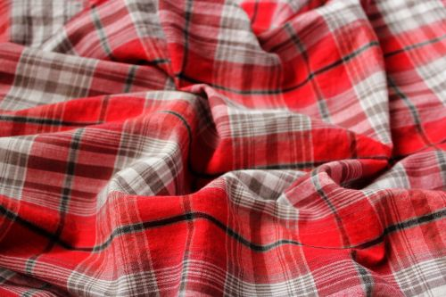 Red Checkered Background 7