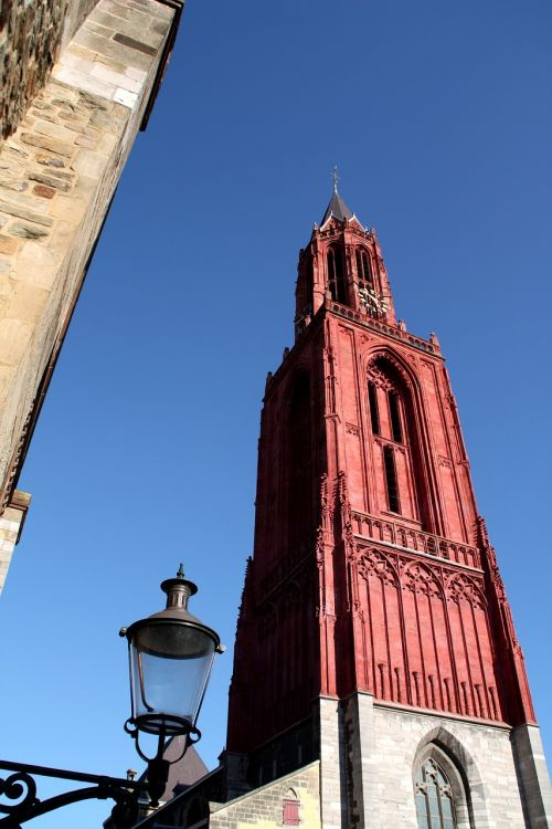 red church holland netherlands