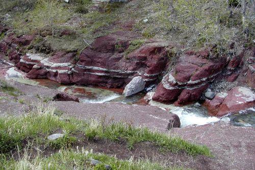 red cliffs creek water