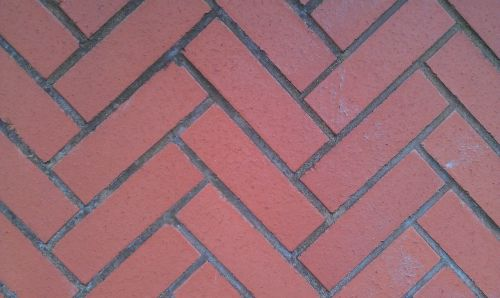 red diagonal bricks red bricks bricks