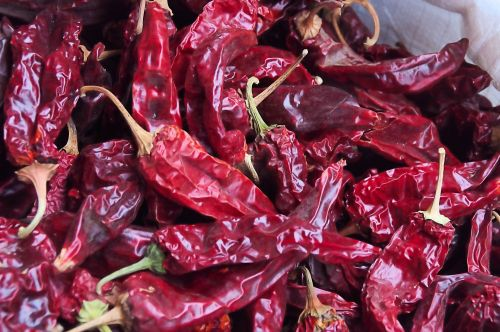 Red Dried Chili Peppers