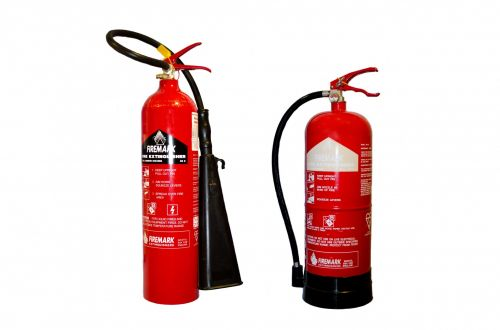 Red Fire Extinguisher