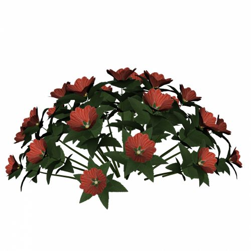Red Flower Bunch
