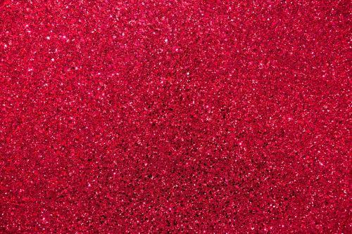 Red Glitter Background