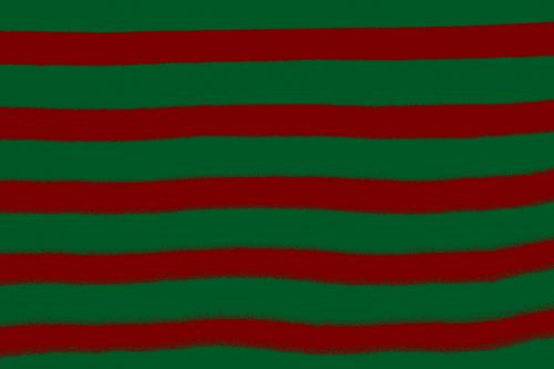 Red Green Wrapping Digital Stripes