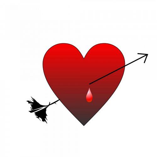 free photos arrow through the heart search download