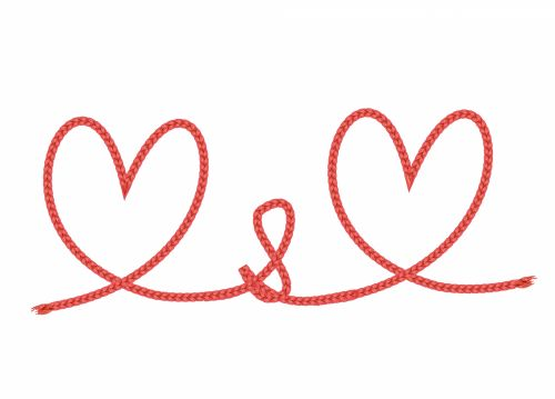 Red Hearts Of Rope