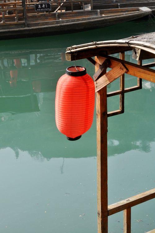 red lantern lake ship