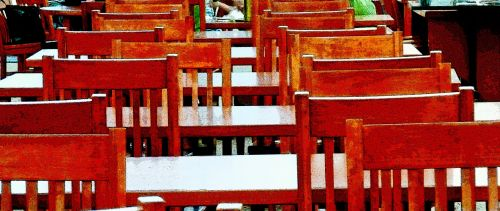 Red Library Chairs