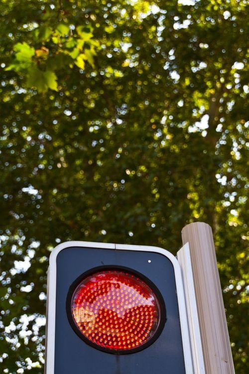 red light traffic signal