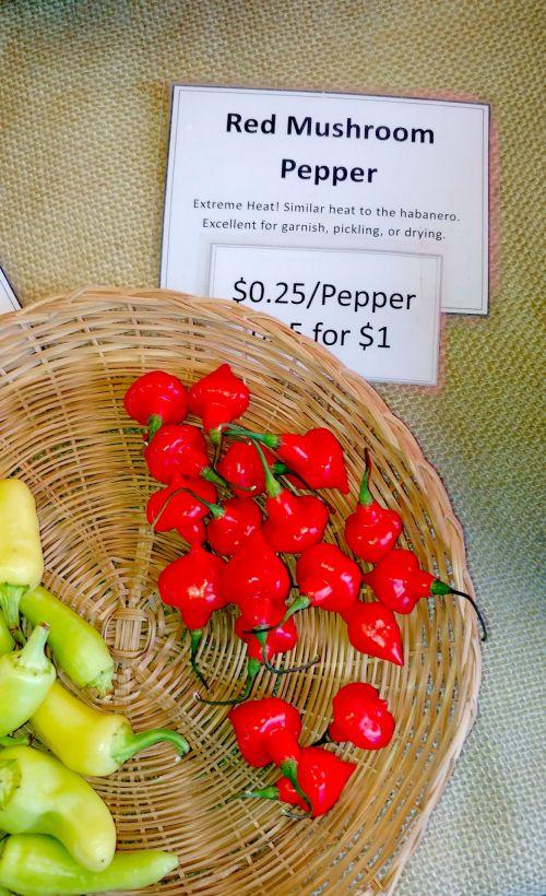 Red Mushroom Peppers