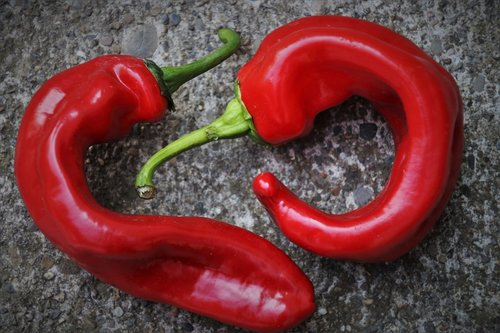 red pepper  para  components