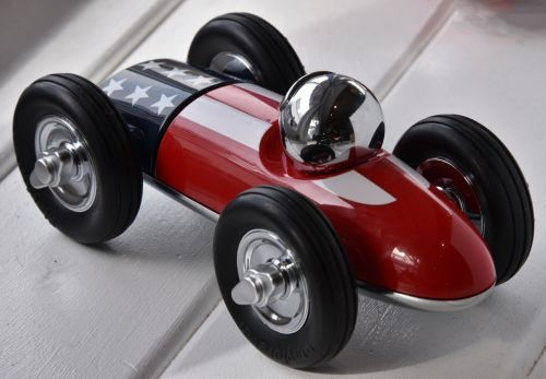 Red Racer Car