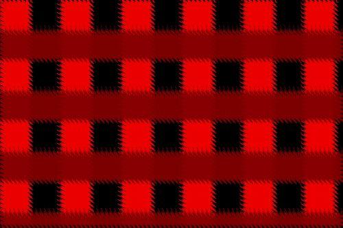 Red Sawtooth Blocks