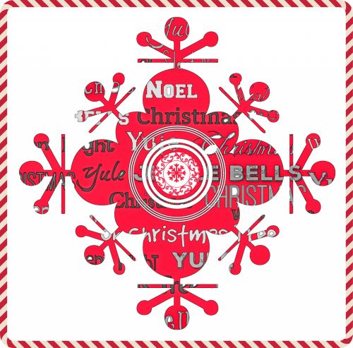 Red Snowflake Christmas Songs