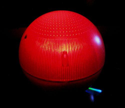 Red Solar Light