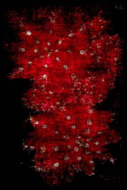 Red Sparkle Grunge Background