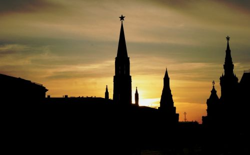red square historic buildings skyline