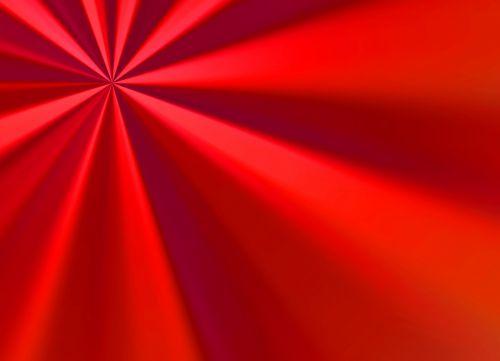 Red Sunburst Background