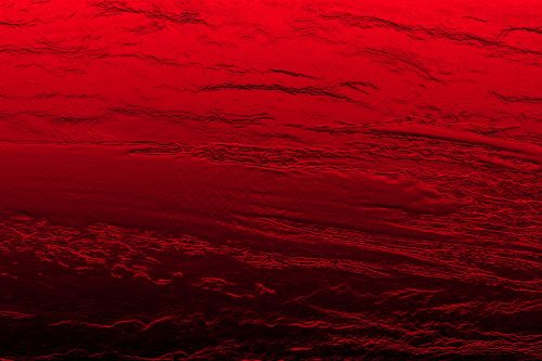 Red Textured Surface