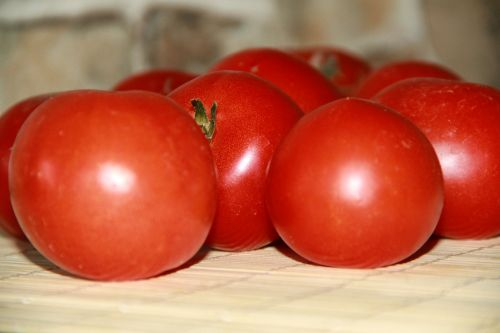 red tomato vegetables food