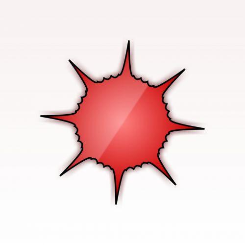piešimas, raudona, virusas, izoliuotas, balta, fonas, juoda, kontūrai, serga, liga, figūra, raudonas virusas 6