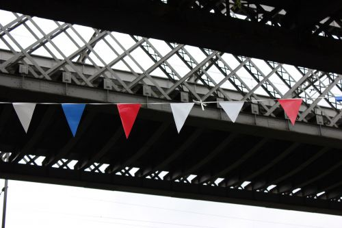 Red White And Blue Bunting