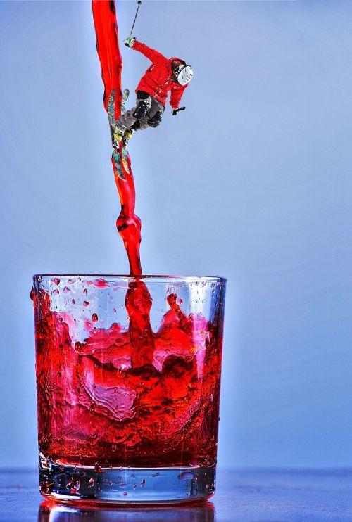 red wine wine glass