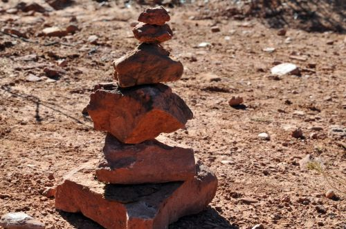 Red Zen Rocks