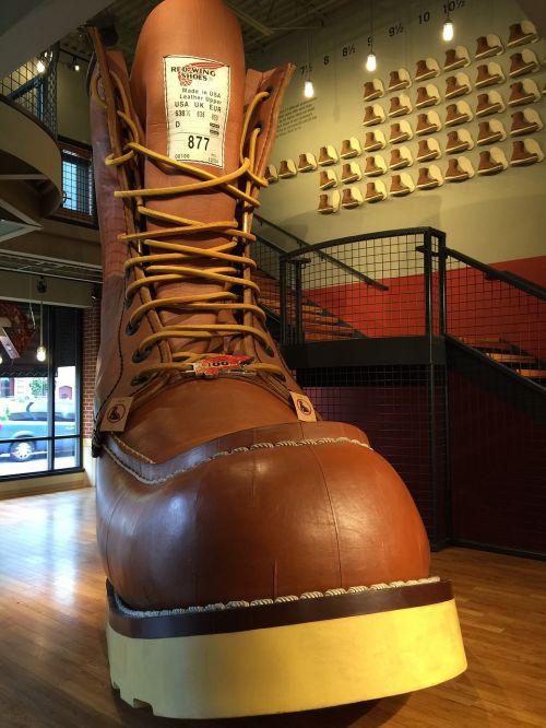 redwing minnesota world's largest boot