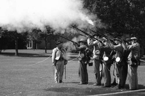 american civil war reenactment civil war