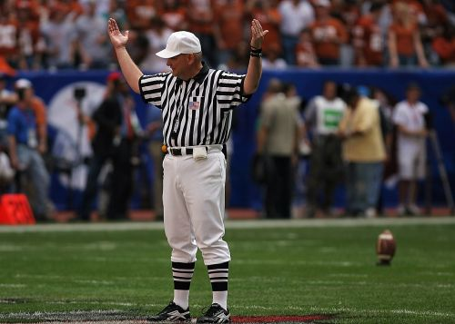 referee american football game