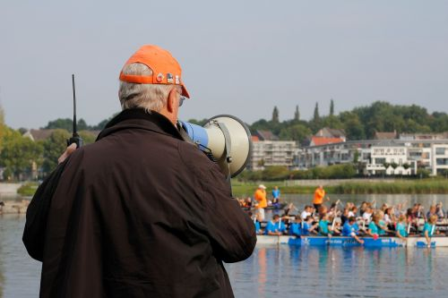 referee lake megaphone