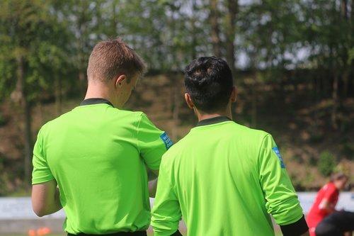 referee  football  sport