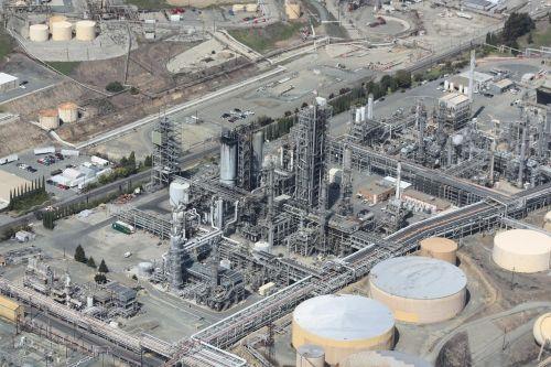 refinery oil aerial