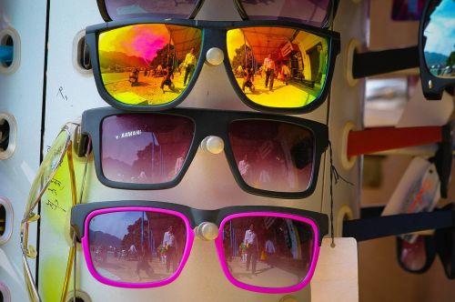 sunglasses glasses colorful