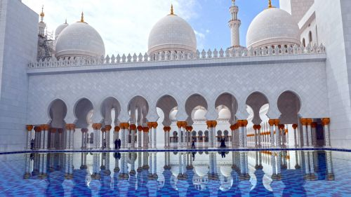 reflection mosque architecture