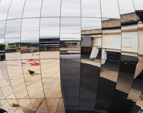 reflection bristol planetarium mirror