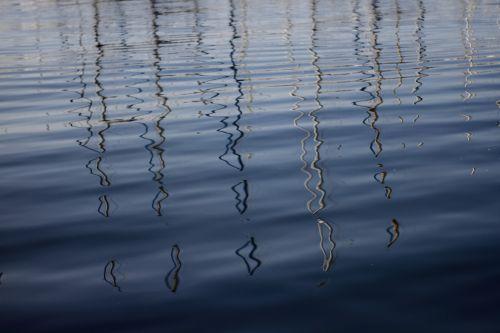 reflection water sea