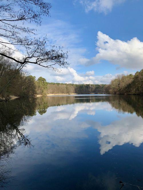 reflection waters lake