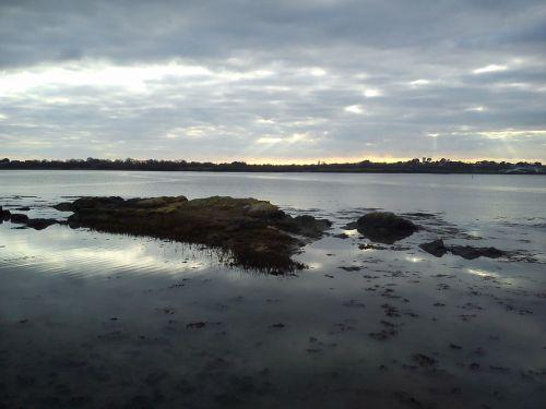 reflection twilight cloud