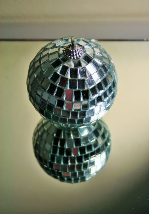 Reflection Of Mirrored Bauble