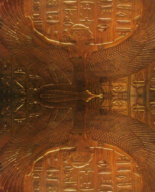 Reflection Of Winged Osiris