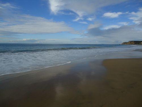 reflexion sand waves