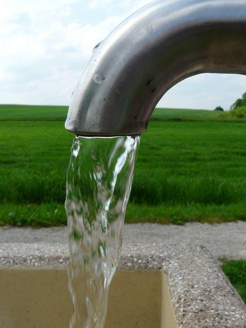 refreshment water source