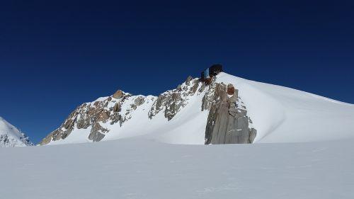 refuge des cosmiques chamonix mountain station